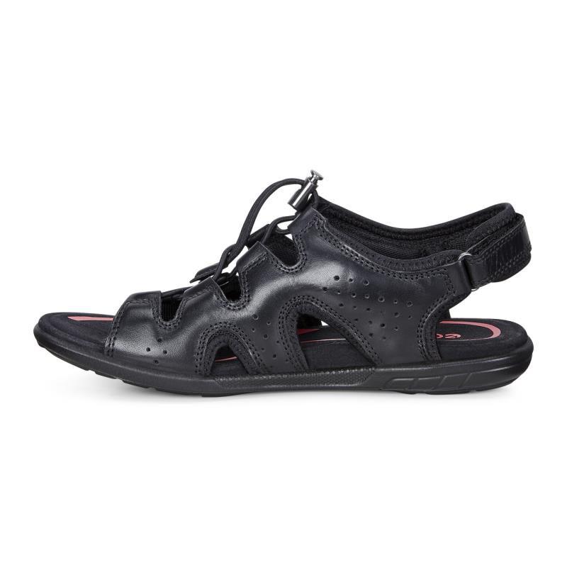 ... ECCO Bluma Toggle SandalECCO Bluma Toggle Sandal BLACK (01001) ...