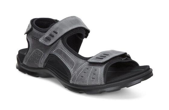ECCO Mens Utah Sandal (TITANIUM)