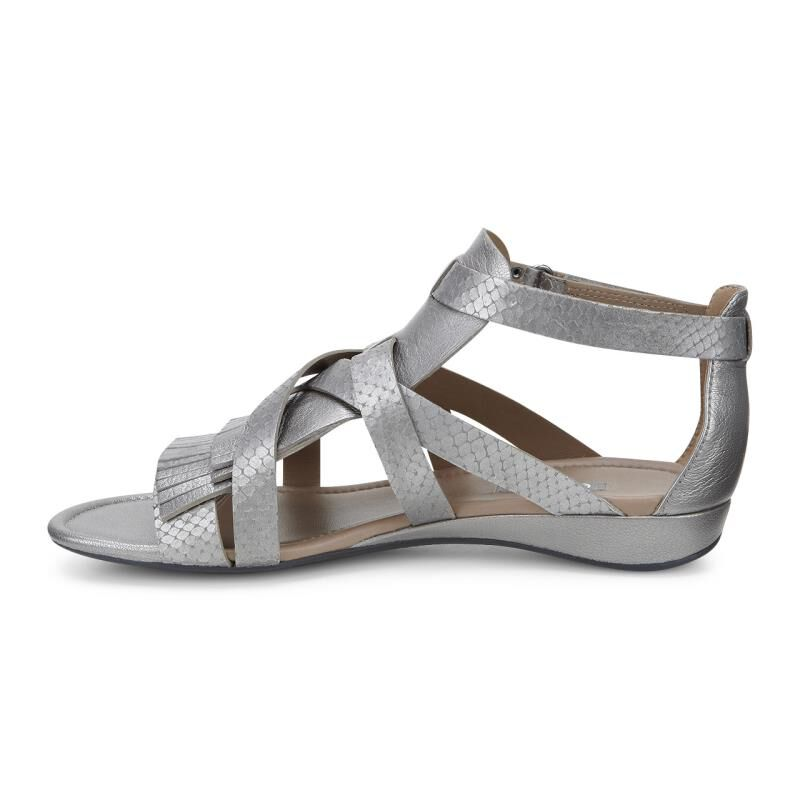 ... ECCO Bouillon II GladiatorECCO Bouillon II Gladiator WARM GREY METALLIC/WARM  GREY METTALLIC (58496 ...