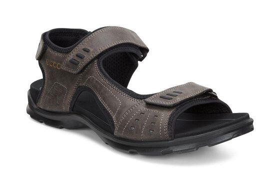 ECCO Mens Utah Sandal (COFFEE)