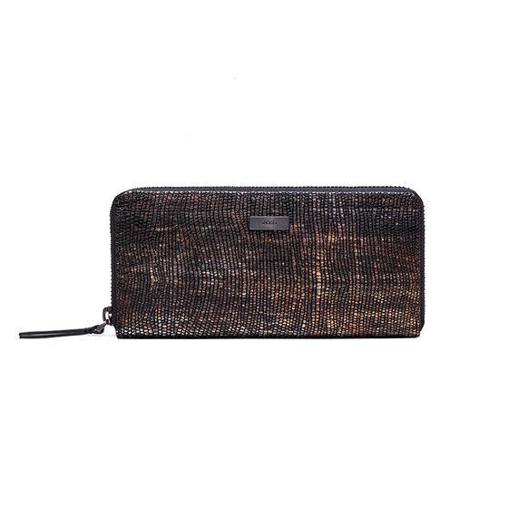 ECCO Izzard Large Zip Wallet (MULTICOL.BLACK)