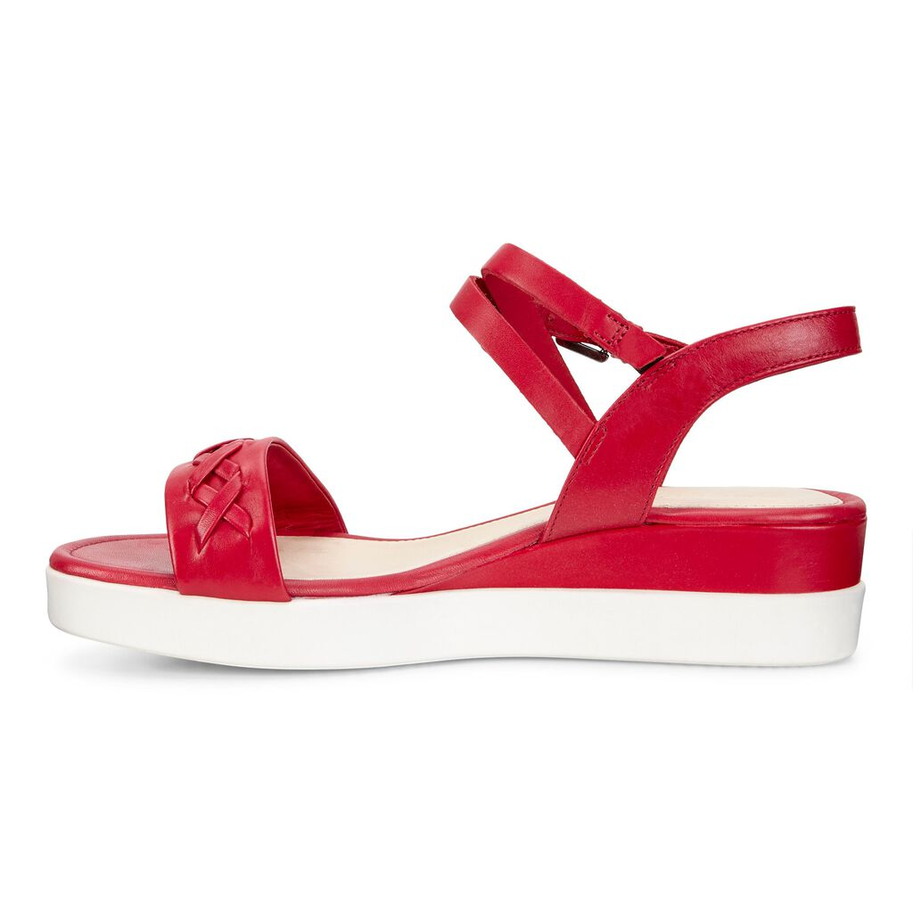 Ecco Touch Braided Plateau Women S Sandals Ecco Shoes