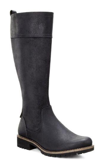 ECCO Elaine Tall Boot (BLACK/BLACK)