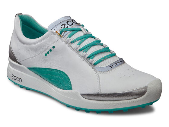 ECCO Womens BIOM Hybrid Lace (WHITE/TURQUOISE)