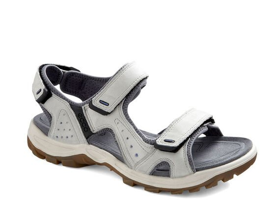ECCO Womens Cheja Sandal (SHADOW WHITE/BAJA BLUE)