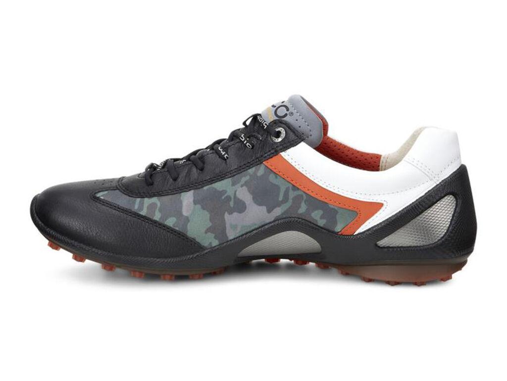 Ecco Biom Zero Golf Shoes Black Fire
