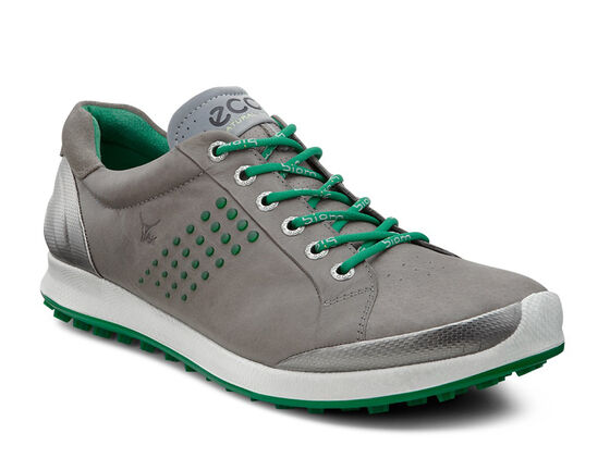 ECCO Mens BIOM Hybrid 2ECCO Mens BIOM Hybrid 2 in WARM GREY/PURE GREEN (59031)