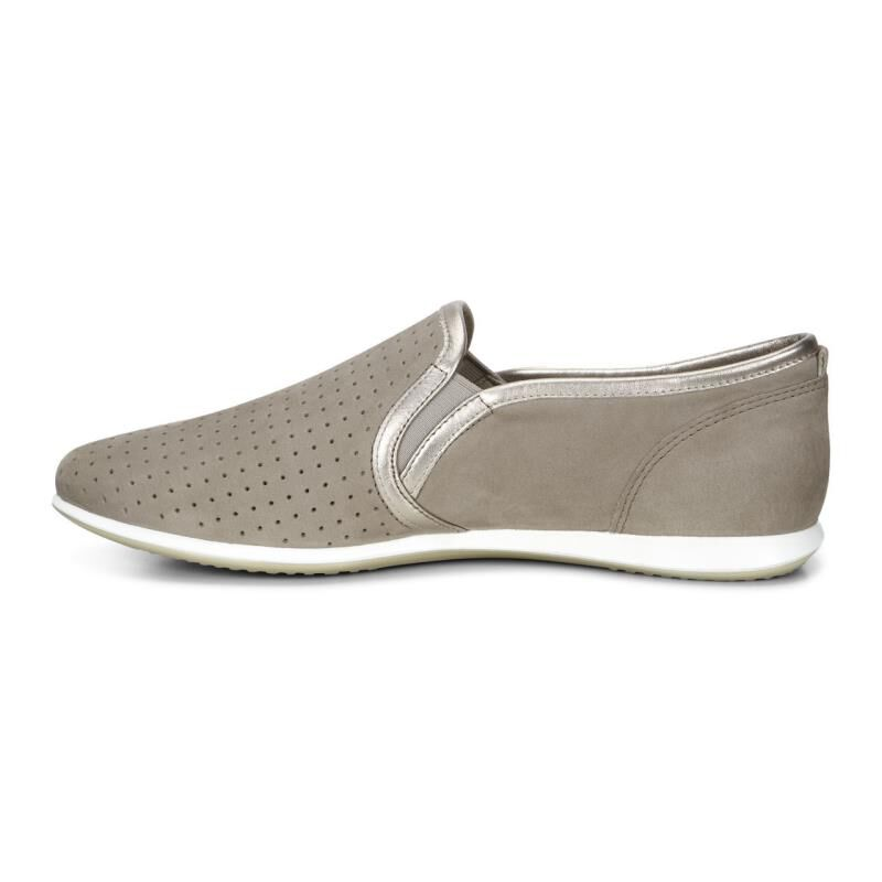 ... ECCO Touch Sneaker Slip OnECCO Touch Sneaker Slip On STONE/MOON ROCK  (59769) ...