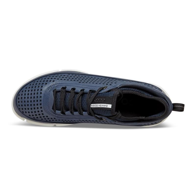 ... ECCO Mens Intrinsic SneakerECCO Mens Intrinsic Sneaker TRUE NAVY  (01048) ...