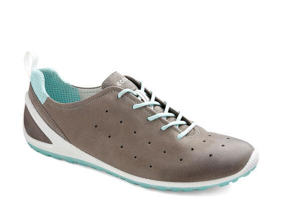 ECCO Womens BIOM Lite (WARM GREY/EMERALD)
