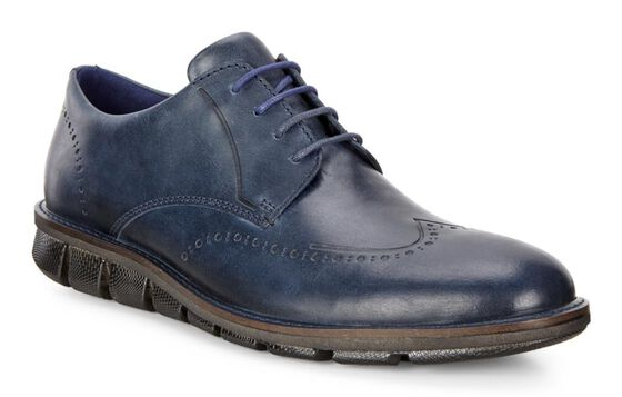 ECCO Jeremy Tie (DENIM BLUE)