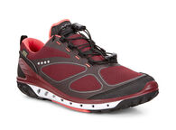 ECCO Womens BIOM Venture GTX (BLACK/PORT/CORAL BLUSH)