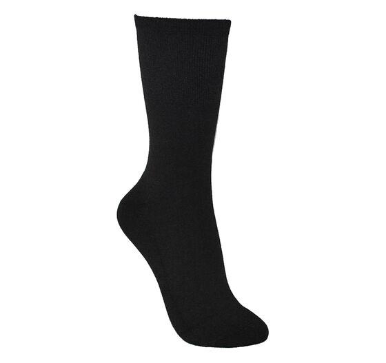 ECCO Womens Mid Cushion Sock (BLACK)