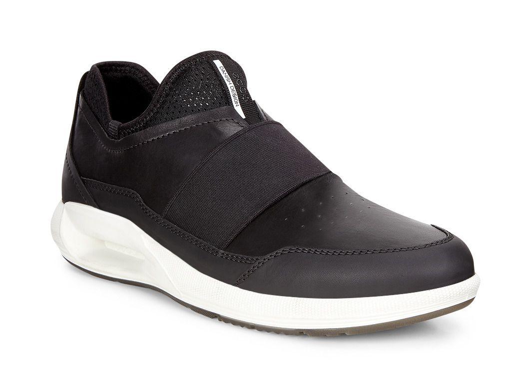 ECCO Mens CS16 Band SneakerECCO Mens CS16 Band Sneaker BLACK/BLACK (51707)  ...