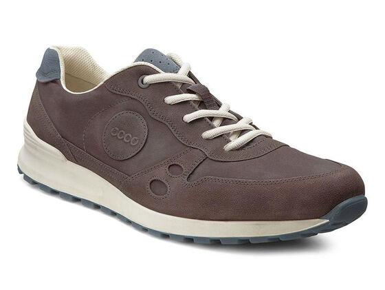 ECCO Mens CS14 Retro Sneaker (MOCHA/COFFEE/PAVEMENT)