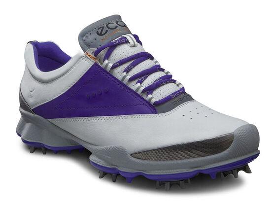 ECCO Womens BIOM Golf Lace (WHITE/IRIS)