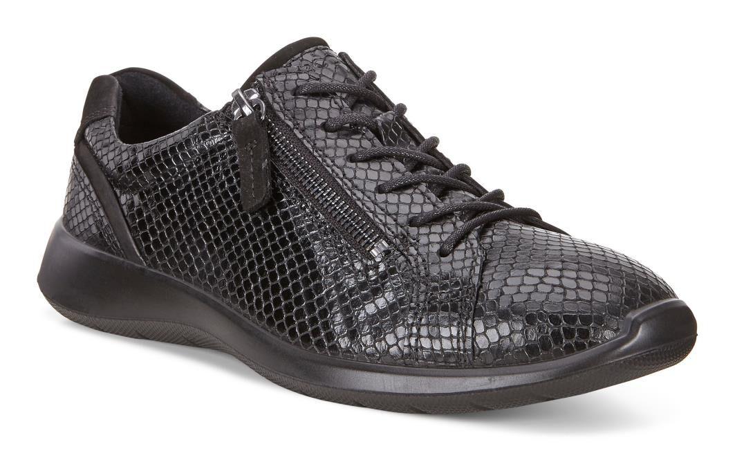 Ecco ecco Soft 5 Sneakers Low, schwarz, schwarz