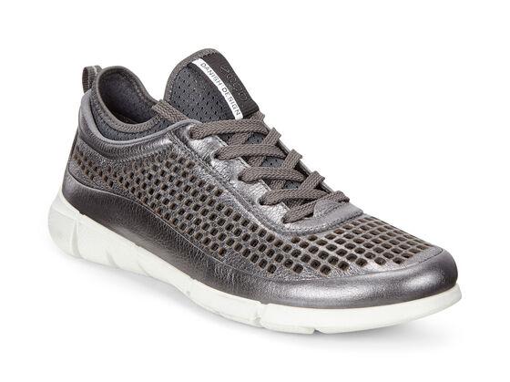 ECCO Womens Intrinsic Sneaker (DARK SHADOW METALLIC)