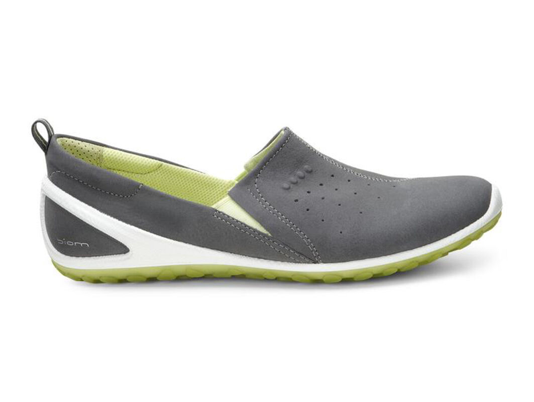 Womens Shoes ECCO Sport Biom Lite Slip On Dark Shadow/Sulphur