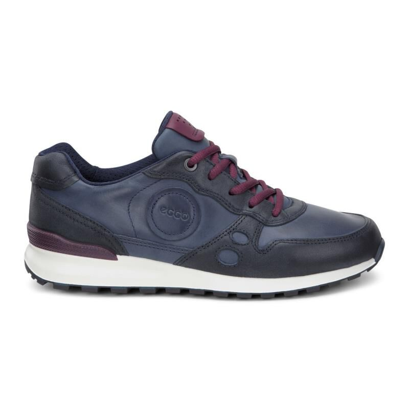 Womens Shoes ECCO CS14 Casual Sneaker Marine/Marine/Morillo