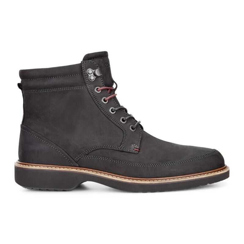 Mens Ian Ankle Boots, Black Ecco