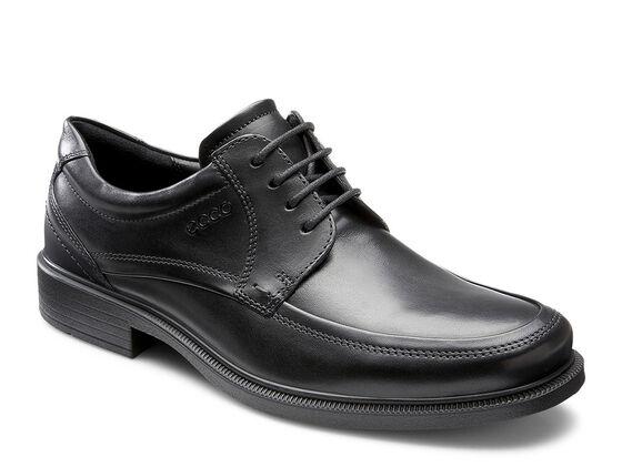 ECCO Dublin Apron Toe Tie (BLACK)