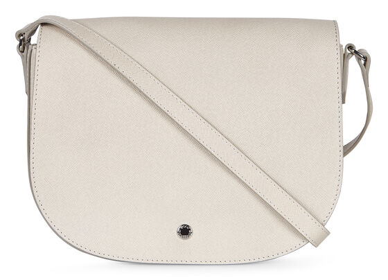 ECCO Iola Medium Saddle Bag (GRAVEL)
