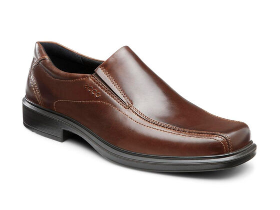 ECCO Helsinki Bike Toe Slip On (COCOA BROWN)