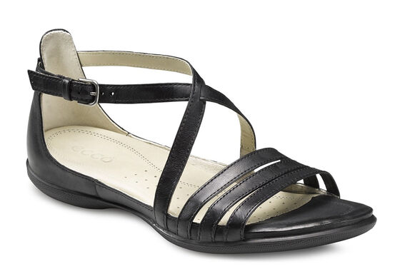 ECCO Flash 3 Strap Sandal (BLACK)