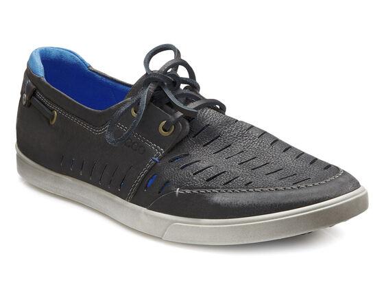 ECCO Collin Trend Boat Shoe (BLACK)
