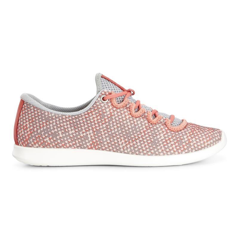 ... ECCO Sense Sport SneakerECCO Sense Sport Sneaker CORAL BUSH/CONCRETE/CORAL  BUSH (50559 ...