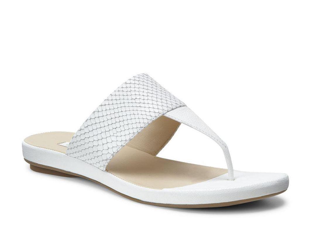 ECCO Tabora 15 Strap Thong (WHITE/WHITE)