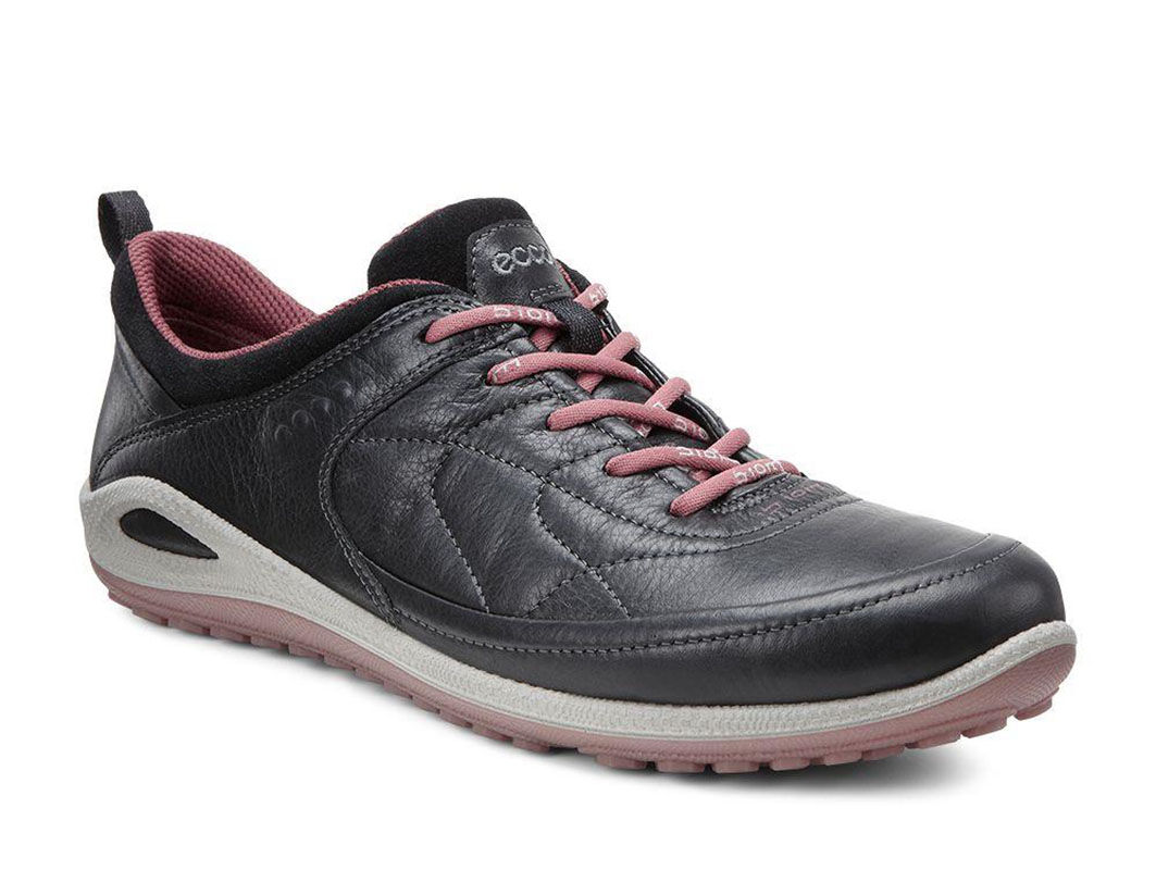 ECCO Womens BIOM Grip Lite 1.2ECCO Womens BIOM Grip Lite 1.2 BLACK/PETAL  TRIM ...