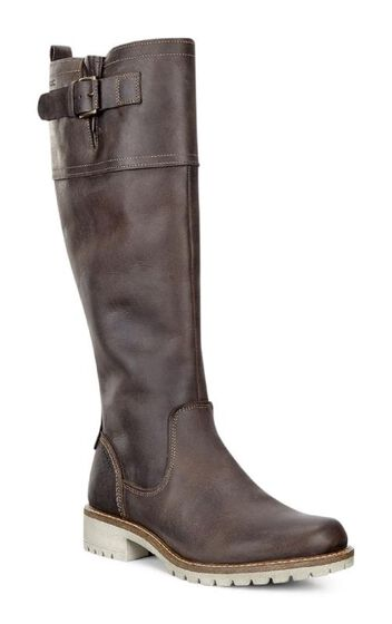 ECCO Elaine Tall Boot BuckleECCO Elaine Tall Boot Buckle in COFFEE (02072)