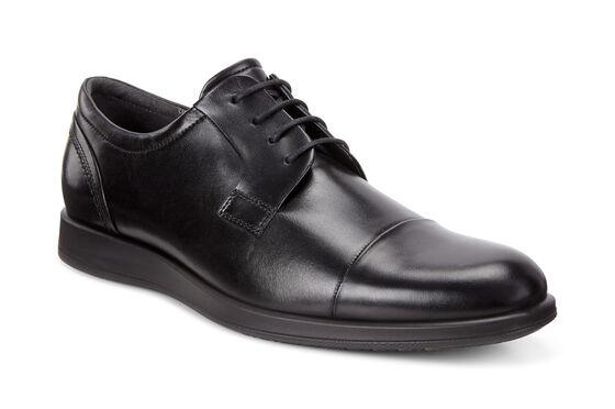 ECCO Jared Cap Toe Tie (BLACK)