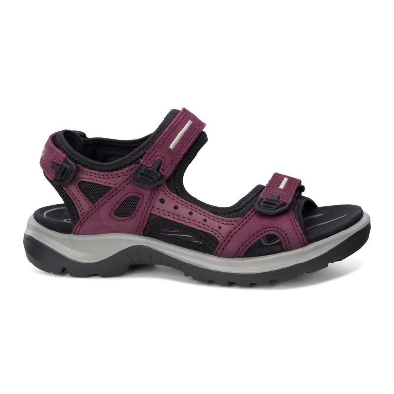 ECCO Womens Yucatan Sandal 069563-59277 MORILLO PORT BLACK