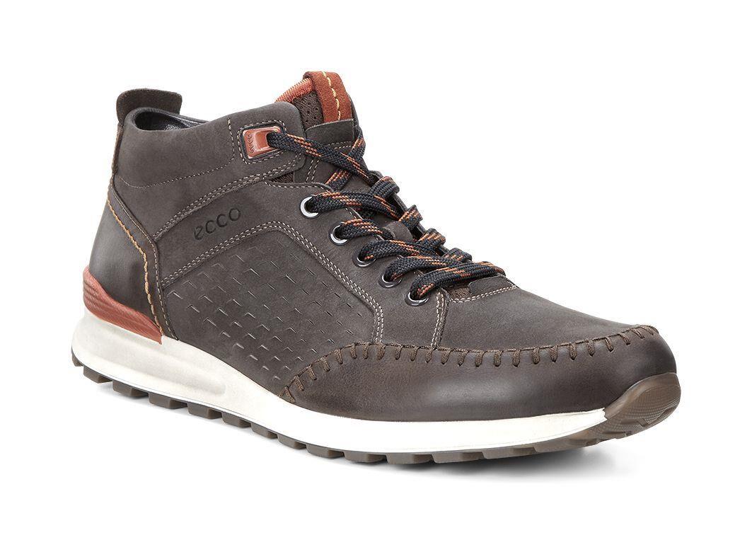 Mens Shoes ECCO CS14 Retro Boot Coffee/Licorice/Picante