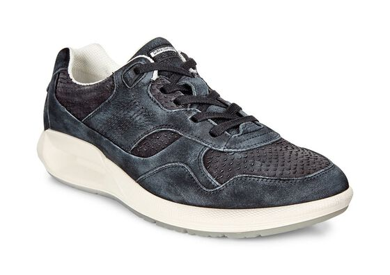 ECCO CS16 Womens Sneaker (BLACK/BLACK)