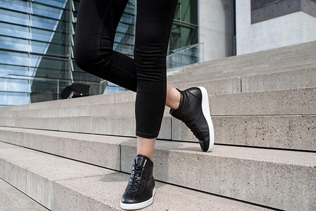 Ecco Womens Soft 1 High Top Women S Boots Ecco Shoes