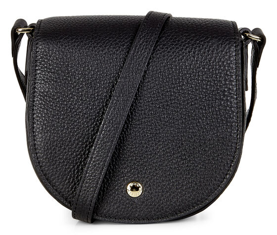 ECCO Kauai Small Saddle Bag (BLACK)