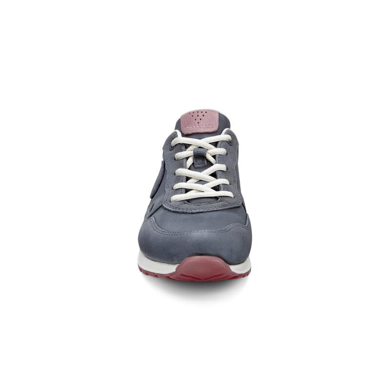 Womens Shoes ECCO CS14 Retro Sneaker Dark Shadow/Petal
