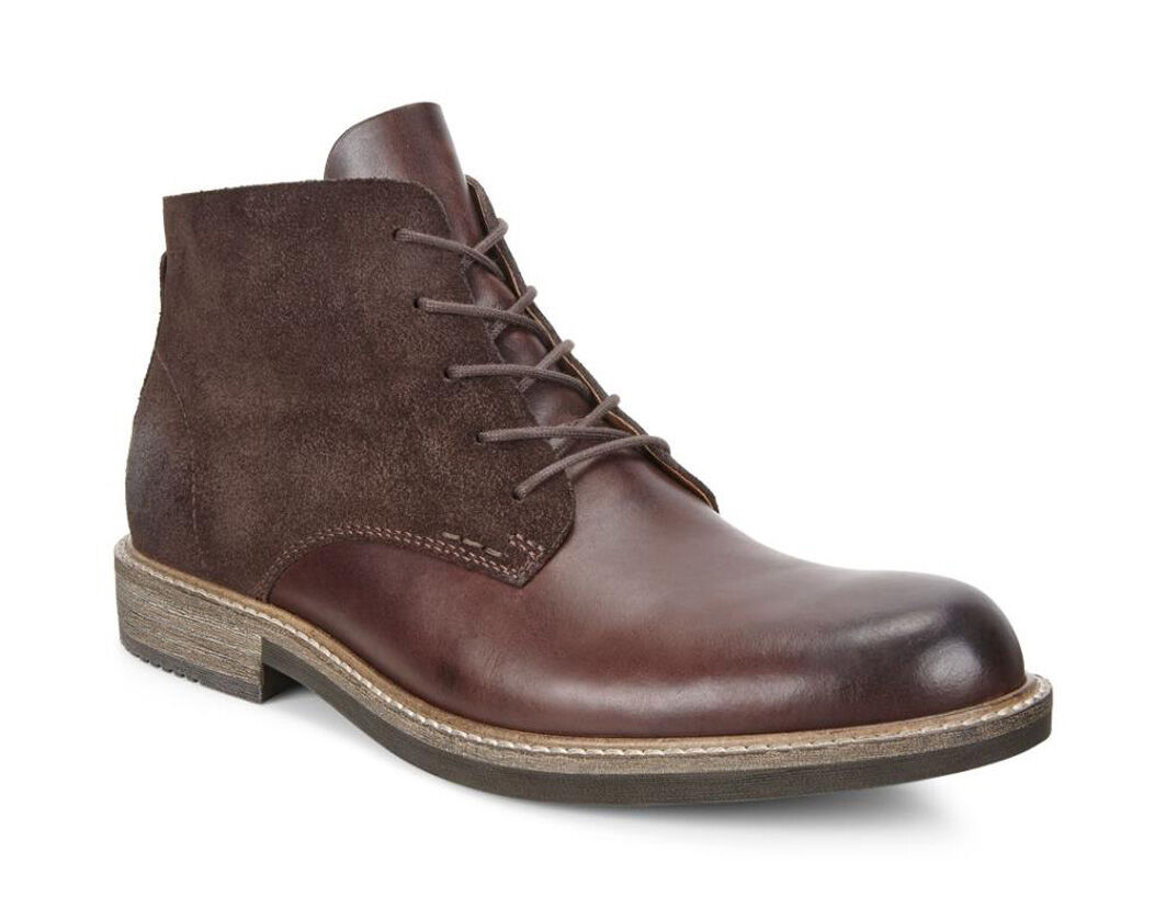 ECCO Kenton Plain Toe BootECCO Kenton Plain Toe Boot MINK/MOCHA (50255) ...