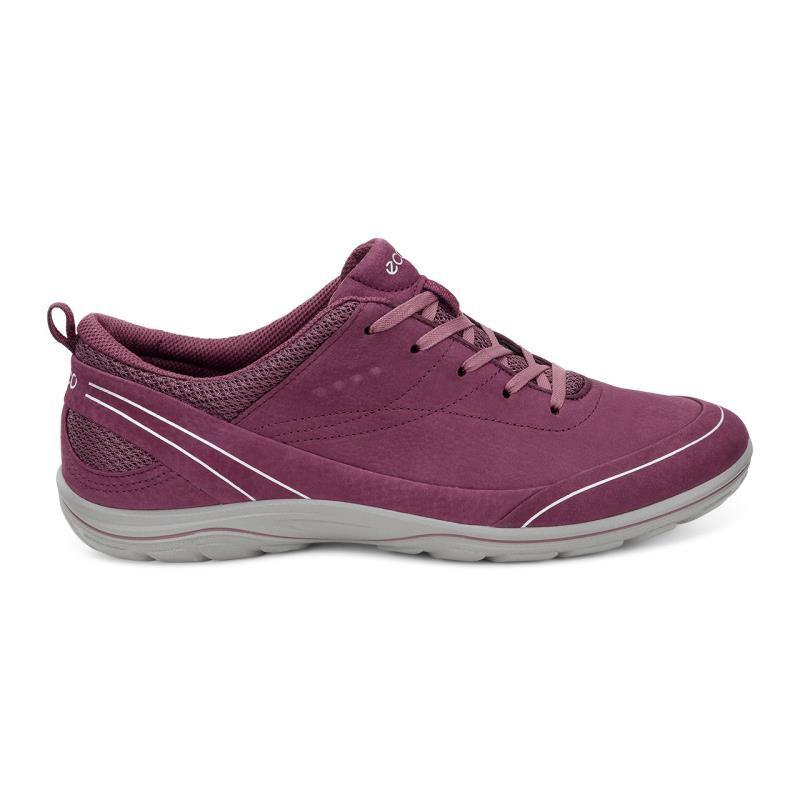 Womens ECCO Arizona Gray Leather Casual Sneaker NEW EU 43 US 12.5 836503