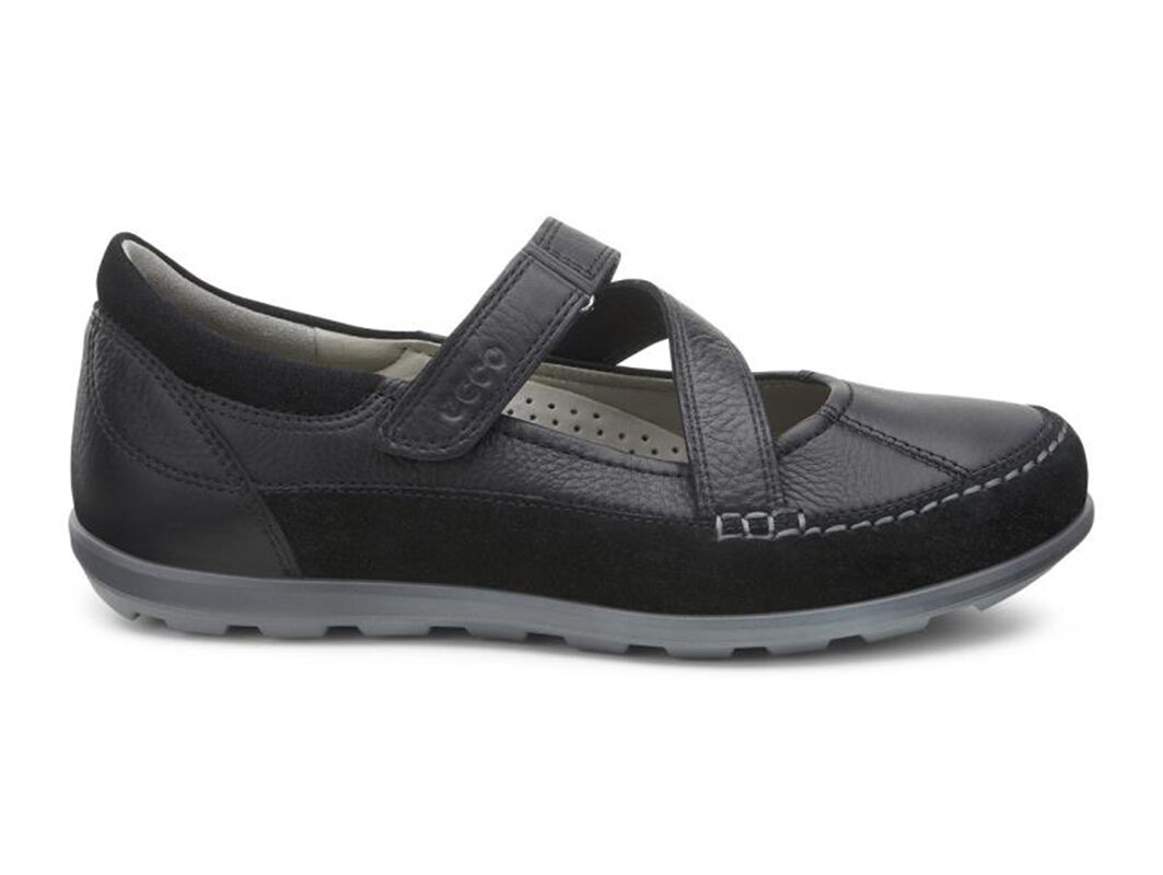 Beautiful ECCO Cayla Mary Jane - Black/Black Casual Shoes