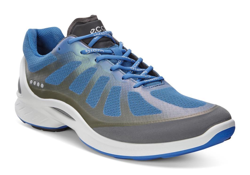 Mens Sneakers Ecco Sport Biom Fjuel Racer Dark Shadow/Bermuda Blue S381P5898U