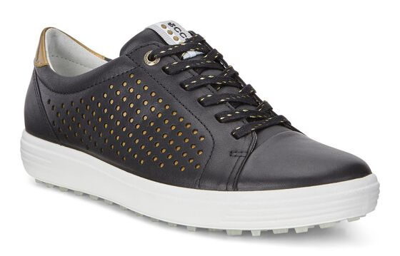 ECCO Womens Casual Hybrid Perf (BLACK)
