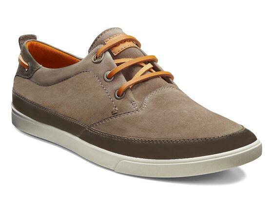 ECCO Collin Nautical Sneaker (WARM GREY/STONE)