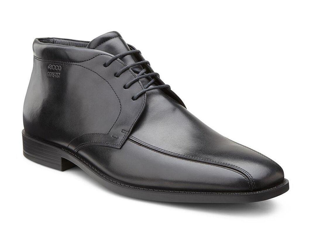 Ecco Boots Mens - Ecco Edinburgh Gtx Black
