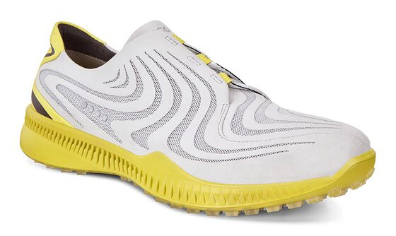 ECCO Mens Golf S-DriveECCO Mens Golf S-Drive in CONCRETE/KIWI (50758)