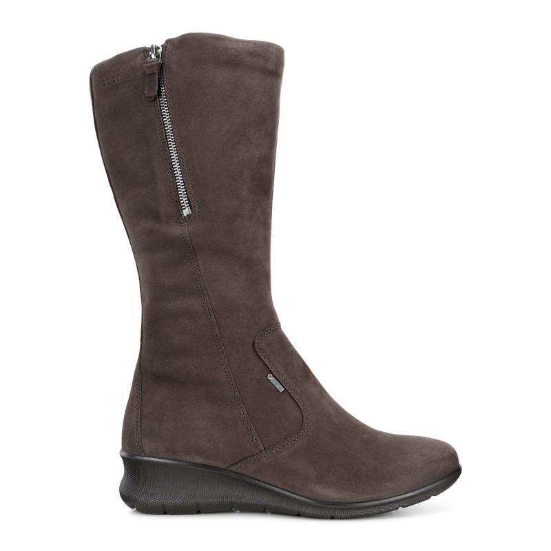 ECCO Babett Wedge Tall BootECCO Babett Wedge Tall Boot MOCHA 02178